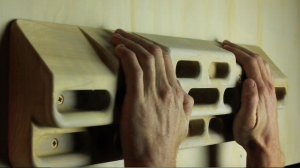 beginner fingerboard program sloper hold